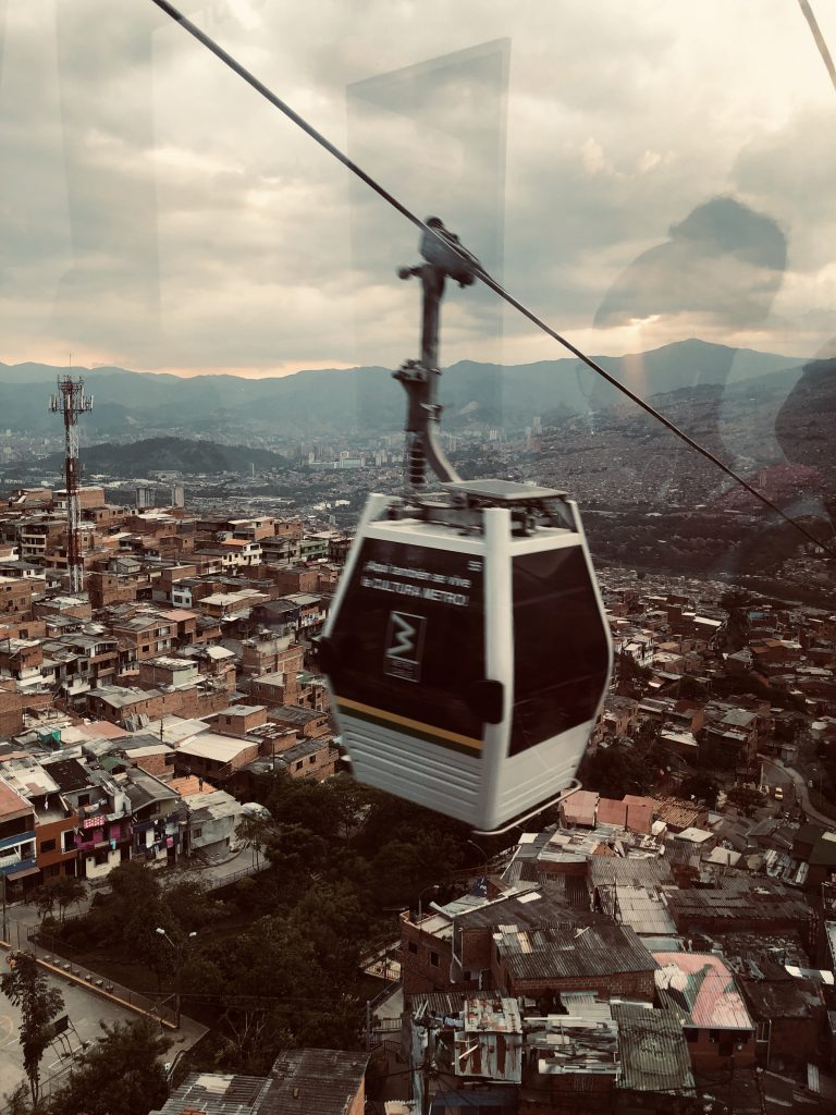Cable Car Transport in Colombia