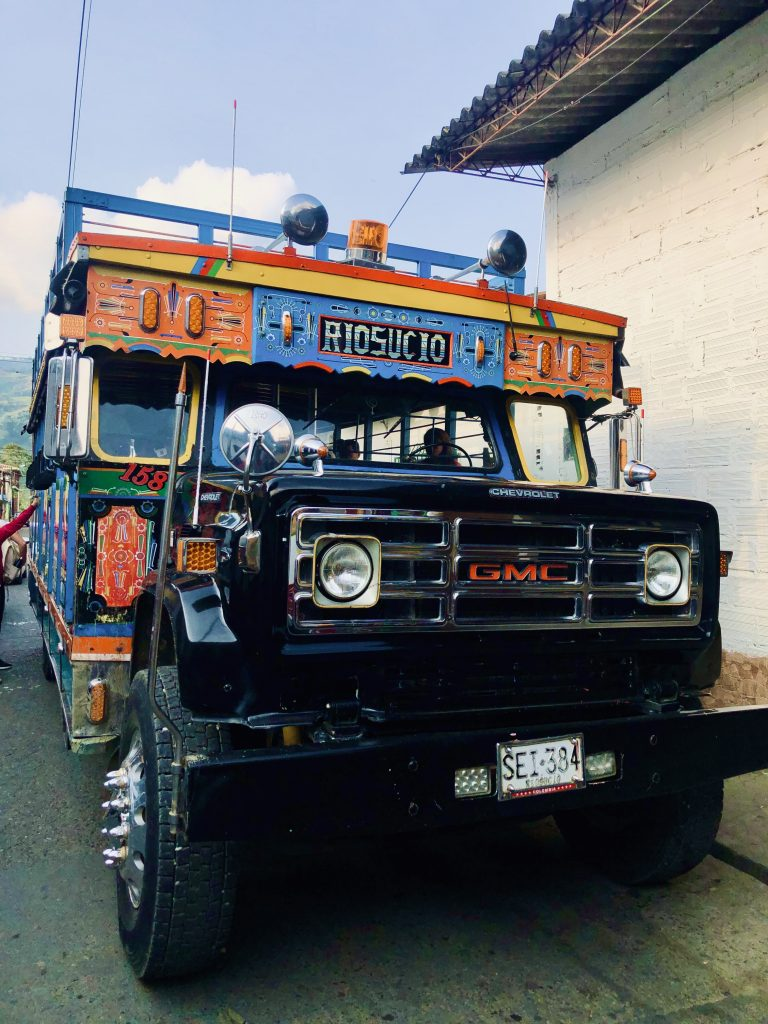 Chiva Bus Transport in Colombia